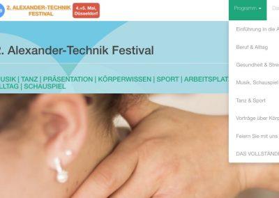 2. Alexander-Technik Festival
